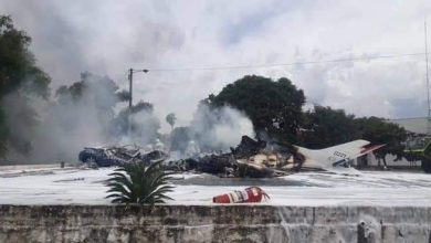 Photo of VÍDEO: Queda de avião militar no Paraguai deixa 7 mortos